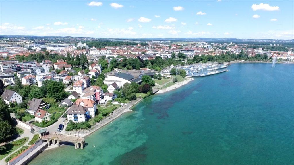Friedrichshafen aus der Luft